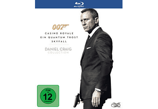 007 - Daniel Craig Collection Action Blu-ray