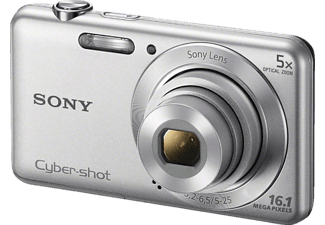 SONY DSC-W 710 S silber, , 16.1 Megapixel, 5x opt. Zoom (28 - 140 mm), 6.7 cm / 2.7 Zoll  Display