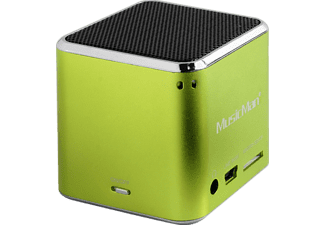 TECHNAXX MusicMan Mini BT-X2 Dockingstation Grün