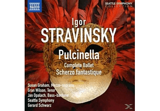 Susan Graham, Jan Opalach, Gran Wilson, The Seattle Symphony - Pulcinella/Scherzo Fantastique - (CD)