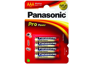 PANASONIC Pro Power - LR03 4pack - Batterier