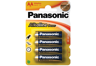 PANASONIC Alkaline Power AA/R6 4-pack - Batterier