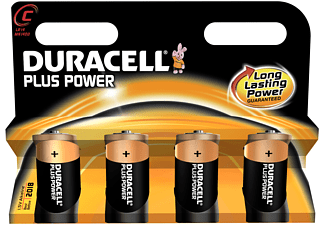 DURACELL Plus Power C 4-pack - Batterier