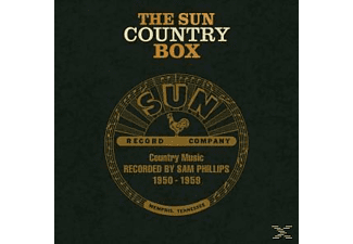 VARIOUS - The Sun Country Box Country Music Recorded 1950-59 - (CD + Buch)