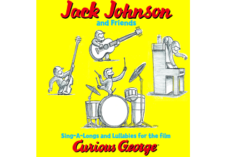 Jack Johnson, Jack & Friends Johnson - CURIOUS GEORGE [CD]