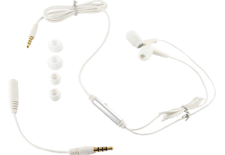 ISY IIE 1100 In Ear GSM Headset weiß