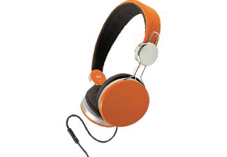 ISY IHP 1100 On-Ear Headset orange