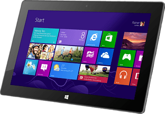 MICROSOFT 7XR-00003 Surface RT mit 10.6 Zoll, 2 GB RAM, Microsoft® Windows® RT, Grau