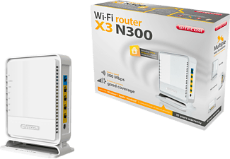 SITECOM WLR-3100 Draadloze router N300 X3