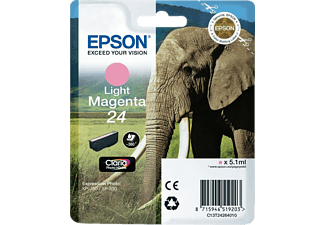 EPSON Tintenpatrone Light Magenta 24 Claria Photo (C13T24264010)