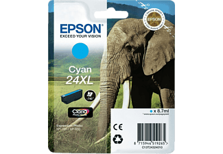 EPSON Cyan 24XL Claria Photo HD C13T24324010