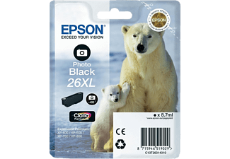 EPSON Photo Black 26XL Claria Premium C13T26314010