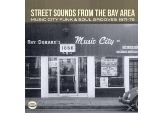 Various - Street Sounds From The Bay Area-Music City Funk&So [CD]