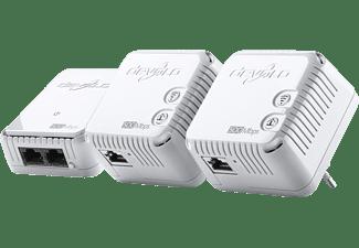 devolo 9090 dlan 500 wifi network kit homeplug modem mit integriertem access point media markt. Black Bedroom Furniture Sets. Home Design Ideas
