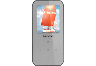 LENCO Xemio 655, MP4 Player, 4 GB, Akkulaufzeit: 8 Std. (Audio), 3 Std. (Video), Grau