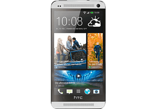 HTC One 32 GB 801 N, Smartphone, 32 GB, 4.7 Zoll, Silber