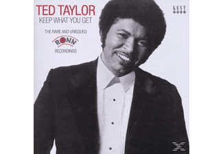 Ted Taylor - Keep What You Get-Rare And Unissued Ronn Recording [CD]