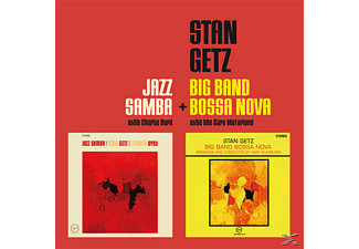 Stan Getz - Jazz Samba+Big Band Bossa Nova [CD]