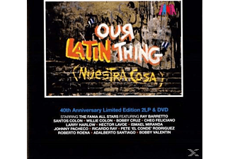 Fania Allstars - Our Latin Thing (Nuestra Cosa) - (LP + DVD Video)