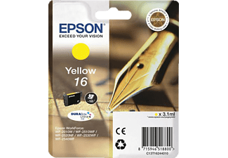 EPSON Yellow 16 DURABrite Ultra Ink C13T16244010