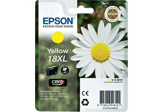 EPSON Yellow 18XL Claria Home Ink C13T18144010