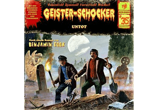 Geister-Schocker 35: Untot - 1 CD - Horror