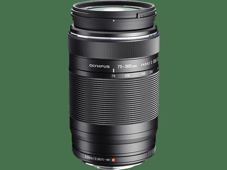 OLYMPUS M.Zuiko D ED 75-300Mm 4.8-6.7 II Black - ( EZ-M7530-2) hobby   φωτογραφία φωτογραφικές μηχανές φακοί mirrorless