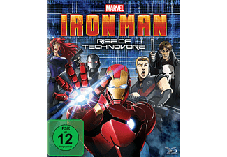 Iron Man: Rise of Technovore - (Blu-ray)