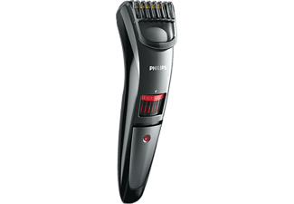 PHILIPS QT 4015/16 Series 3000, Trimmer, Akkubetrieb, Schwarz/Rot