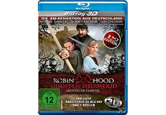 ROBIN HOOD - GHOSTS OF SHERWOOD (3D) [3D Blu-ray]