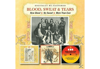 Blood, Sweat & Tears - New Blood / No Sweat / More Than Ever [CD]