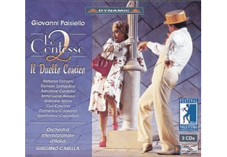 DONZELLI,STEFANIA & CARELLA,GIULIANO - Le Due Contesse/+Il Duello Comico - (CD)