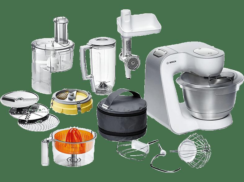 bosch mum 54251 styline weiss/silber küchenmaschinen online kaufen
