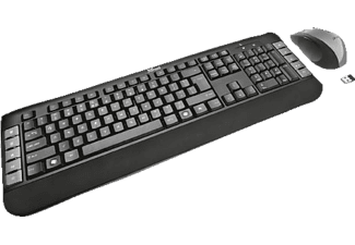 TRUST 18053 Tecla Wireless Multimedia Keyboard with mouse