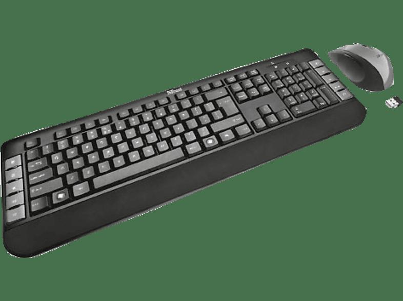 TRUST 18053 Tecla Wireless Multimedia Keyboard with mouse laptop  tablet  computing  περιφερειακά πληκτρολόγια   ποντίκια
