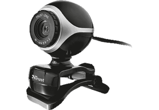 TRUST Exis Webcam Black/ Silver - (17003)