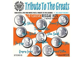 Rude Rich & The High Notes - Tribute To The Greats - (CD)