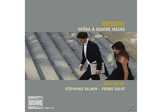 Stephanie Salmin, Pierre Solot - Opera A Quatre Mains - (CD)
