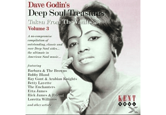 VARIOUS - Dave Godin's Deep Soul Treasures 3 [CD]