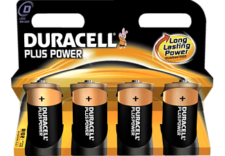 DURACELL Plus Power D 4-pack - Batterier