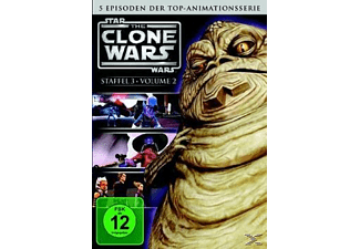 Star Wars: The Clone Wars - 3. Staffel - Vol. 2 Episoden 7-11 - (DVD)