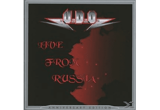 Udo - Live From Russia (Re-Release) (Anniversary Edition) [CD]