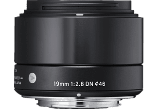 SIGMA 19mm F2,8 DN   Micro Four Thirds Weitwinkel für Micro-Four-Thirds  - 19 mm , f/2.8