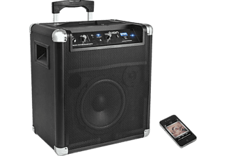 mobiles bluetooth soundsystem mit radio ion blockrocker bluetooth schwarz ipa56 mediamarkt. Black Bedroom Furniture Sets. Home Design Ideas