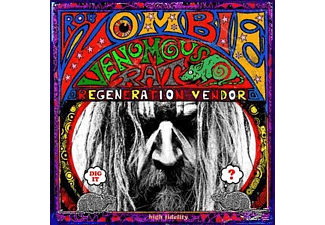 Rob Zombie VENEMOUS RAT REGENERATION VENDOR Rock CD