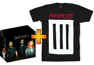 Paramore CD + T-Shirt-Edition (S) - Saturn Exklusiv