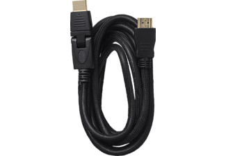 BIGBEN HDMI®-Kabel 1.4/3D LX Rotationsstecker, HDMI-Kabel, 2.5 m
