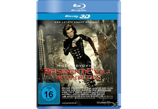 Resident Evil Retribution - (3D Blu-ray)