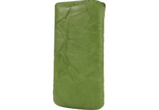 EMPORIA Ledertasche Washed Light Green für iPhone 5