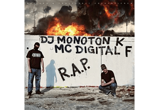 Dj Monoton K;Mc Digital F - R.A.P. [CD]
